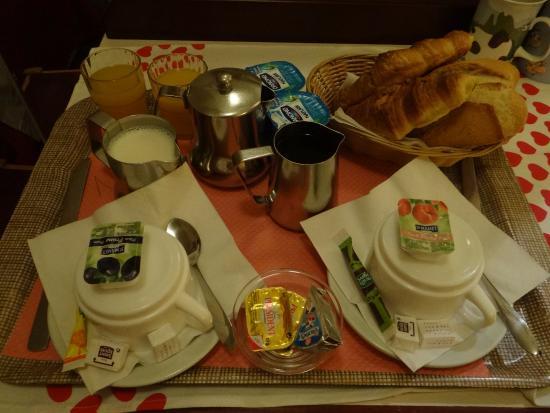 Avenir Hotel: завтрак