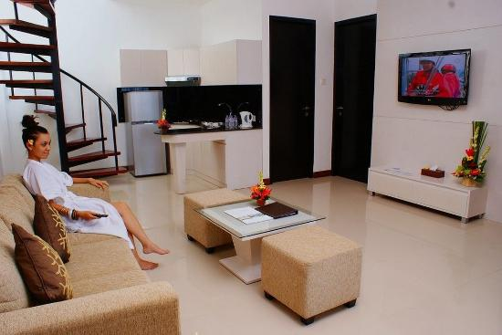 Umalas Hotel and Residence: Living Room
