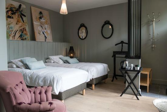 Plumes & Coton : Possibilité deux lits simples