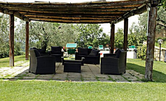 Montespertoli, Italien: Gazebo