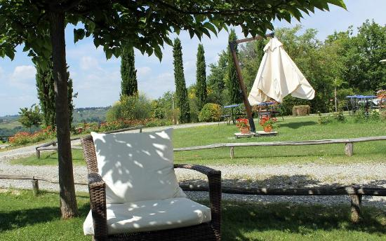 Montespertoli, İtalya: Garden