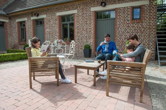 Plumes & Coton : Salon de jardin