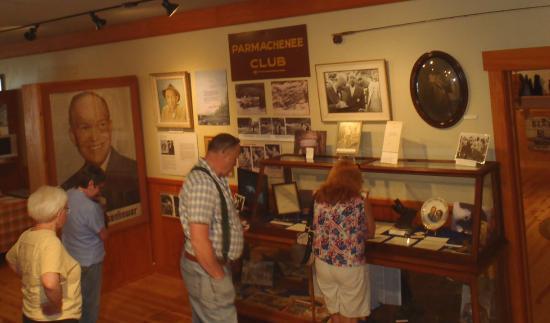 Oquossoc, ME: Eisenhower Exhibit