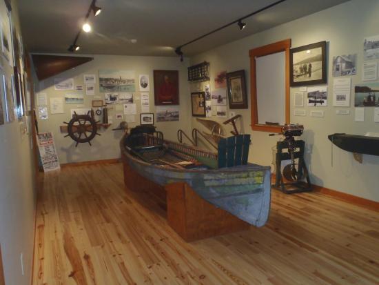 Oquossoc, ME: Circa 1880's Rangeley Boat