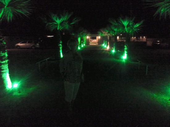 Sfakaki, Grekland: Nice green lightning track