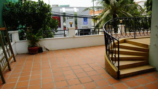 Casa Hotel: прогулка по террасе