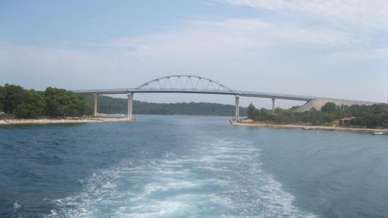 Pašman, Chorwacja: ponte di zdrelac