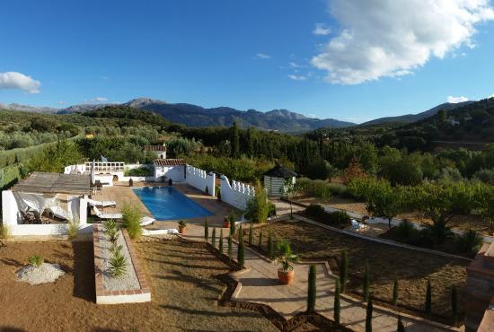 Villanueva del Rosario, Spanien: View from the roof terrace