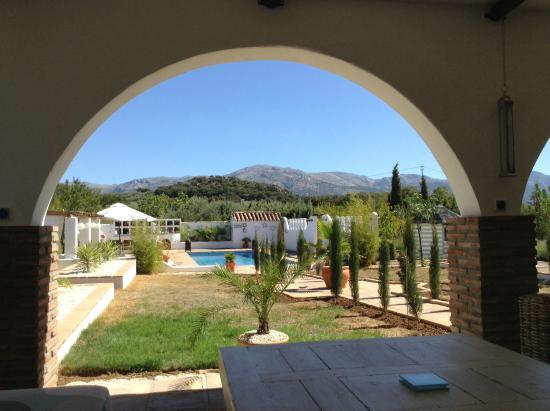 Villanueva del Rosario, Spanien: View from the terrace