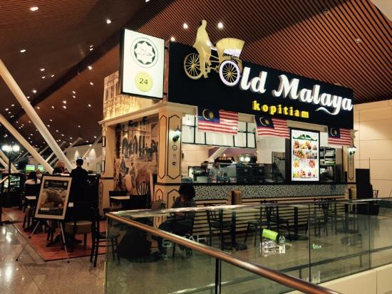 Old Malaya Kopitiam: The front view.