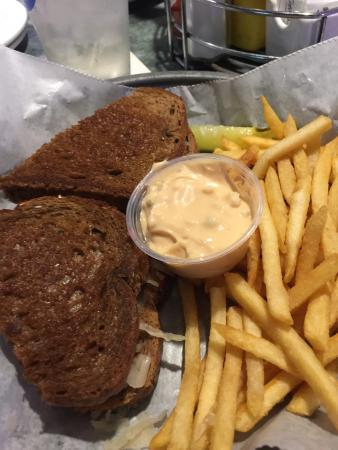 Spring Grove, IL: Reuben sandwich