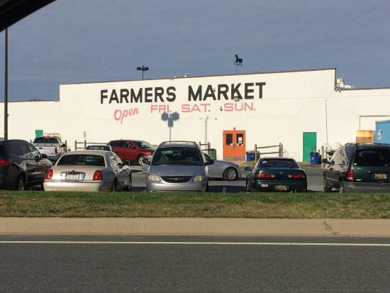 New Castle Farmers Market seen from 273