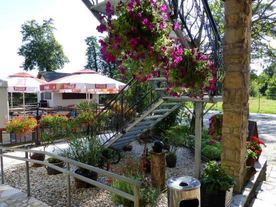 Izbicko, Polen: ogródek letni