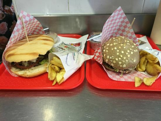 Pide Tu Menu En Burger Comic Picture Of Burger Comic Estepona