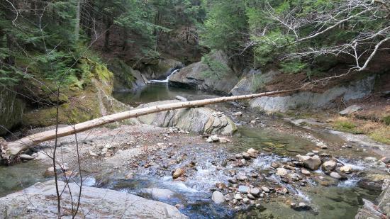 Warren, Вермонт: Walk along the Mad River.