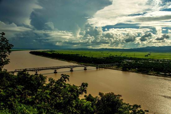Rakhine State, Myanmar: Kyaukpyu River morphology by Sigit Pramono