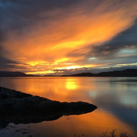 S Airds Hotel Scotland Airds Hotel & Restaurant: Lovely sunset