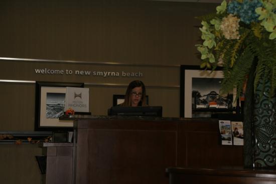 Hampton Inn New Smyrna Beach: A warm Welcome!