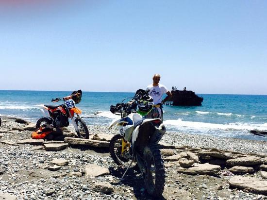 Ypsonas, Cyprus: acrotiri ship-wreck
