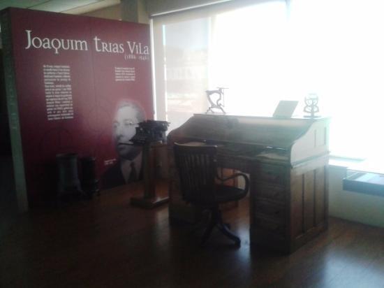 סנטה קולומה דה פרנרס, ספרד: Interior museo