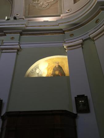 Monte San Giusto, Italia: affreschi