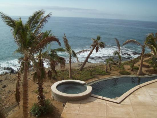 Todos Santos, Mexiko: one of the hot tubs