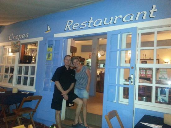 Pousada L'Escale : Das sehr sympathische Inhaber-Ehepaar