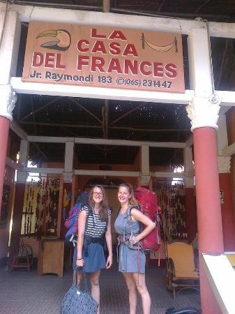 Hotel La Casa del Frances: devant lhotel