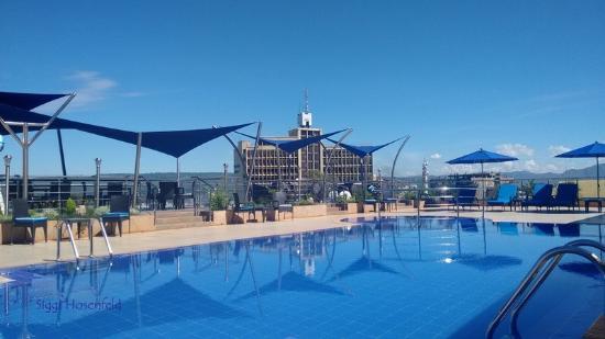 Pool picture of acacia premier hotel kisumu tripadvisor for Hotels in kisumu with swimming pools