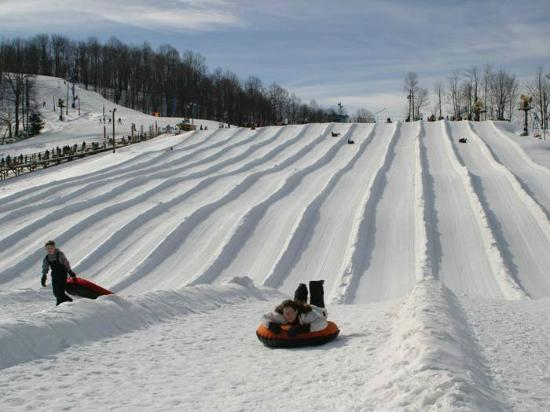 Flat Top, WV: Largest snowtubing park in WV.
