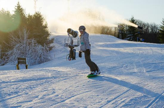 Flat Top, Virginia Occidental: 100+ skiing days a year.