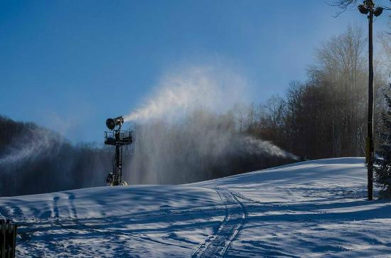 Flat Top, Virginia Occidental: 100% snowmaking coverage.