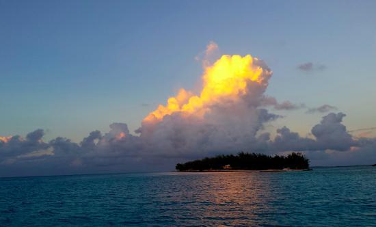 Bimini: Another amazing sunset.
