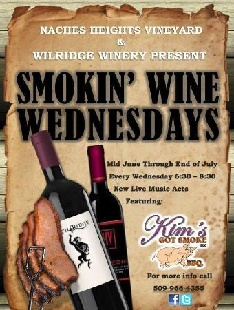 Naches, WA: Summer Wine Wednesday events
