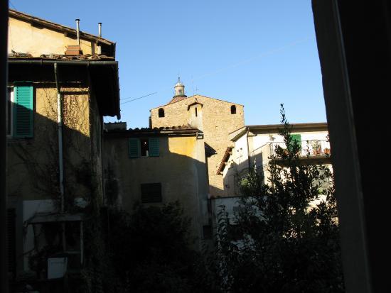 Croce di Malta Hotel: Вид на прохладный дворик с бассейном.