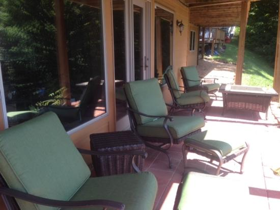 Blue Mountain Escape: New Patio
