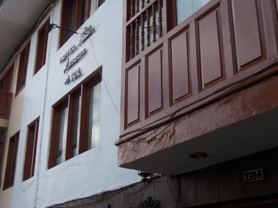 Amanecer En El Sol Hotel: entrada