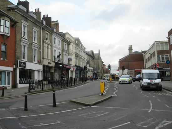 Winchester, UK: Jewry Street