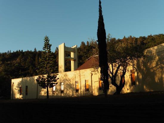New Camaldoli Hermitage: Ziemlich modern, fast ein bißchen neu-modisch