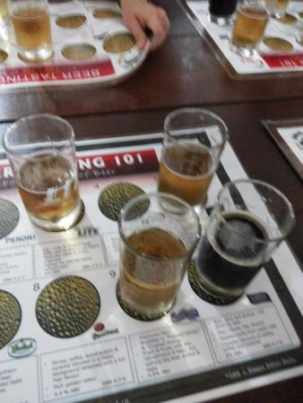 Newlands Brewery: Degustação