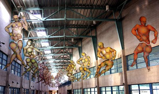 Artistic Displays Picture Of Genoveva Chavez Community Center