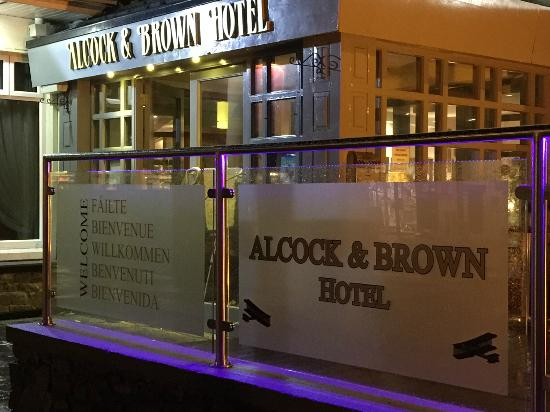 Alcock & Brown Hotel: Outside of Hotel