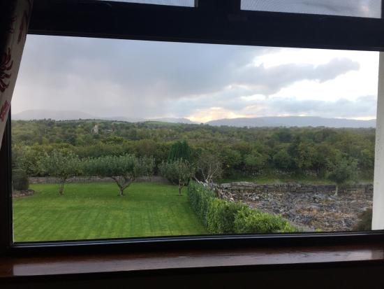 Hazel Grove B&B: View of Irish countryside from out of our window.