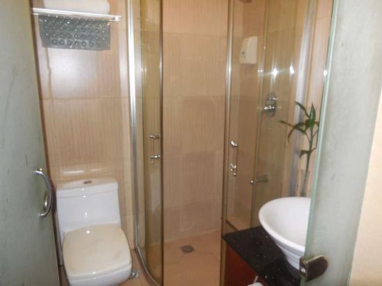 Bokai Business Hotel: Salle de bain