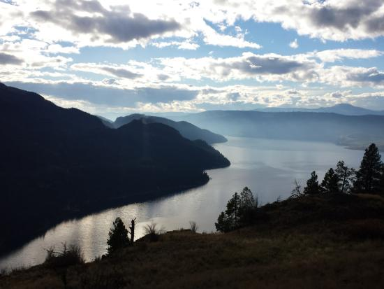 Kalamalka Lake Provincial Park: view