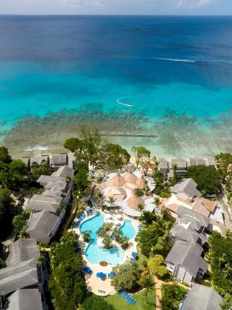 The Club, Barbados Resort and Spa: The Club - Aerial View