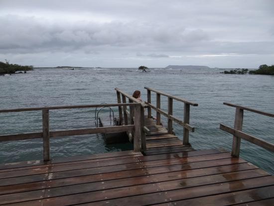 Puerto Villamil, เอกวาดอร์: Chegando