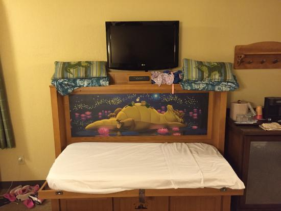 port orleans resort riverside pull down bed