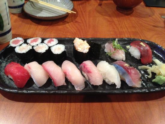 Sushi Hachi : お任せ握り