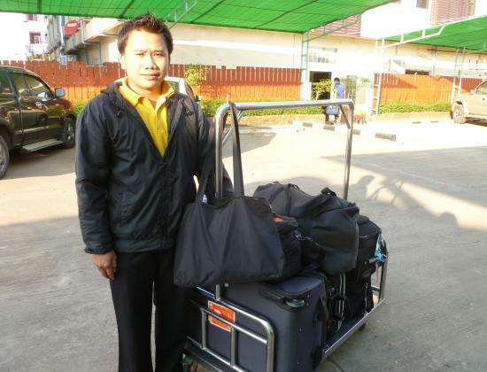 King Hotel: Gepäckträger